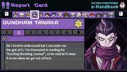 Gundham Tanaka's Report Card Page 2