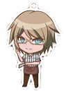 Danganronpa 1.2 Reload x Sweets Paradise Keychain Byakuya Togami