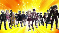 Danganronpa V3 CG - Pre-Game Students in their talent outfits (PC) (1)