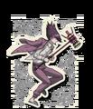 Danganronpa V3 Kaito Momota Death Road of Despair Sprite (Hammer) 04