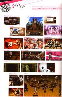 Danganronpa Visual Fanbook Cutscenes (01)