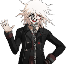 Nagito Komaeda The Servant Halfbody Sprite (7)
