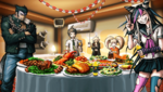 Danganronpa 2 CG - A photo of the party (1)