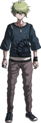 Danganronpa V3 Rantaro Amami Fullbody Sprite (1)