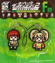 FuRyu Minna no Kuji Dot Rubber Mascots Mahiru Koizumi and Hiyoko Saionji