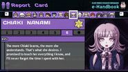 Chiaki Nanami's Report Card Page 6