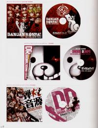 Danganronpa Visual Fanbook Soundtracks