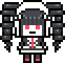 Celestia Ludenberg School Mode Pixel Icon (1)