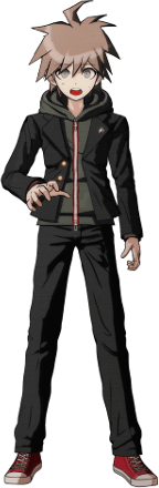 Danganronpa 1 Makoto Naegi Sprite (PSP) 10