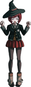 Danganronpa V3 Himiko Yumeno Fullbody Sprite (13)