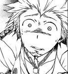 Leon's breakdown in manga