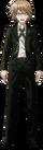 Danganronpa 1 Byakuya Togami Fullbody Sprite (PSP) (4)