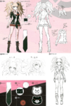 Danganronpa 1 Character Design Profile 1.2 Reload Artbook Junko Enoshima