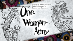 Danganronpa 2 Alternate Execution Title Cards (One Woman Army)