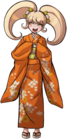 Danganronpa 2 Hiyoko Saionji Fullbody Sprite (PSP) (3)