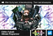 Danganronpa V3 Bonus Mode Card Chihiro Fujisaki U ENG