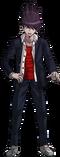 Danganronpa V3 Kaito Momota Fullbody Sprite (High School Uniform) (5)