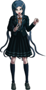 Danganronpa V3 Tsumugi Shirogane Fullbody Sprite (3)