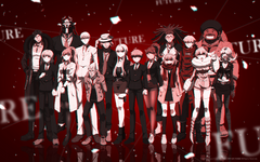 Digital MonoMono Machine Danganronpa 3 Side Future Cast PC wallpaper
