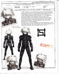 Danganronpa V3 - Day One Dossier Art Booklet - K1-B0