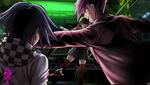 Danganronpa V3 CG - Confrontation in the hanger (3)