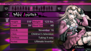 Danganronpa V3 Miu Iruma Report Card (Demo Version)