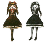 Celestia Ludenberg Beta Designs Visual Fanbook