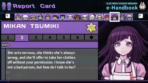 Mikan Tsumiki's Report Card Page 2