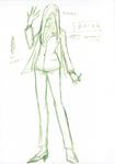 Danganronpa 3 - Character Profiles - SHSL Nailist (Sketches)
