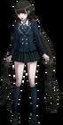 Danganronpa V3 Maki Harukawa Fullbody Sprite (High School Uniform) (3)