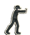 Danganronpa V3 Shuichi Saihara Death Road of Despair Sprite (Hat) 06