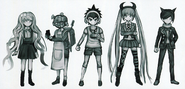 Danganronpa Another Episode Beta Designs Warriors of Hope (2)