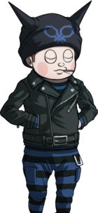 Danganronpa V3 Ryoma Hoshi Halfbody Sprite (9)