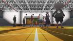 Danganronpa the Animation (Episode 08) - Monokuma revealing the Mole (1)