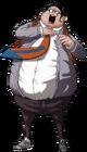 Danganronpa Hifumi Yamada Fullbody Sprite (PSP) (11)