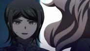 Despair Arc Episode 6 - Mukuro noticing Izuru Kamukura is dangerous