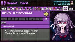 Peko Pekoyama Report Card Skill