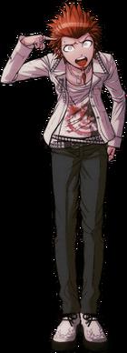 Danganronpa 1 Leon Kuwata Fullbody Sprite (PSP) (15)