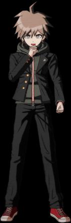 Danganronpa 1 Makoto Naegi Sprite (PSP) 05
