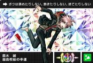 Danganronpa V3 Bonus Mode Card Makoto Naegi U JP