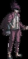 Danganronpa V3 Kaito Momota Fullbody Sprite (30)