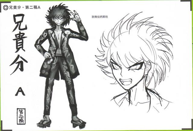 File:Art Book Scan Danganronpa V3 Character Designs Betas Kaito Momota (3).png