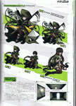 Art Book Scan Danganronpa V3 Argue-Armed Battle Illustrations Example Page