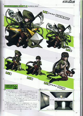 File:Art Book Scan Danganronpa V3 Argue-Armed Battle Illustrations Example Page.png