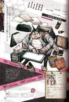 Danganronpa 1 Hifumi Yamada Character Design Profile Overview Danganronpa 1.2 Art Book