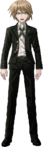 Danganronpa 2 Byakuya Togami Fullbody Sprite (No Glasses) (3)