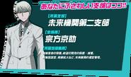 Danganronpa 3 Personality Quiz Japanese Kyosuke Munakata