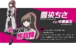 Promo Profiles - Danganronpa 3 Future Arc (Japanese) - Chisa Yukizome