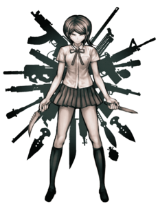 Danganronpa Zero - Mukuro Ikusaba Splash Illustration
