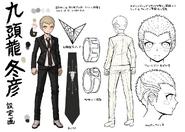 Danganronpa 2 Character Design Profile Fuyuhiko Kuzuryu